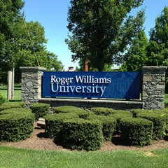 Photo taken at Roger Williams University by Becky R. on 8/14/2013