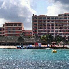 Photo taken at El Cozumeleño Beach Resort by Carlos P. on 4/13/2013