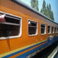 Photo taken at Stasiun Kedunggalar by patbom on 10/9/2012