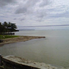 Photo taken at Tanjung Lesung by Mughny H. on 5/18/2013