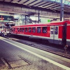 Photo taken at München Hauptbahnhof by David H. on 8/2/2013