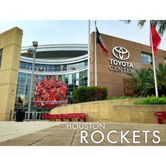 Photo taken at Toyota Center by Edwin T. on 5/13/2013