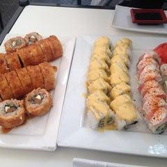 Photo taken at Niu Sushi by Pablo on 10/2/2013