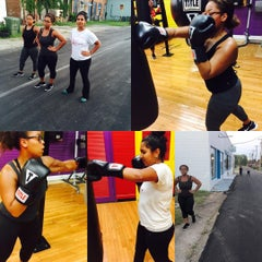 Photo taken at Shakehouse Boxing by Sammie M. on 9/4/2015
