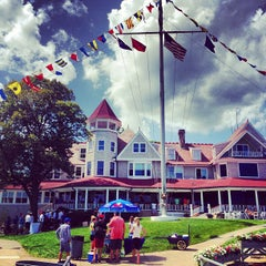 Photo taken at Larchmont Yacht Club by Sloane B. on 7/14/2013
