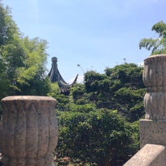 Photo taken at Chinese Scholars' Garden by Tiffany M. on 7/12/2014