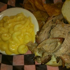 Photo taken at Two Brothers BBQ by Craig M. on 6/8/2014