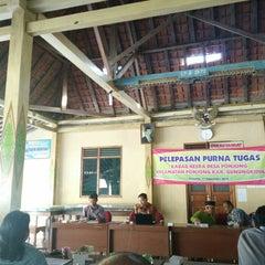 Photo taken at Balai Desa Ponjong by Nurudin J. on 9/12/2015