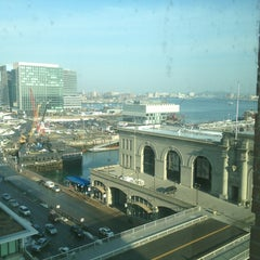 Photo taken at Seaport Boston Hotel by Jason T. on 2/15/2013