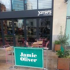 Photo taken at Jamie's Italian by Alexey S. on 2/14/2015