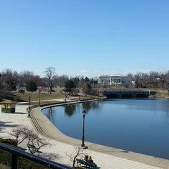 Photo taken at Hoyt Lake by Nancy S. on 3/30/2013