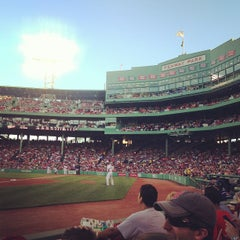 Photo taken at Fenway Park by Rebecca B. on 7/3/2013