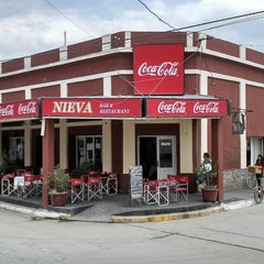 "Photo taken at Bar ""Nieva"" by Mike M. on 11/4/2013"