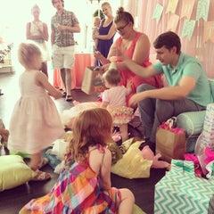 Photo taken at Dandelion Salon by Kristin S. on 7/27/2014