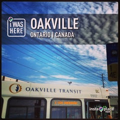 Photo taken at Oakville GO Station by Nest M. on 7/4/2013