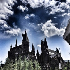 Photo taken at Harry Potter and the Forbidden Journey / Hogwarts Castle by Sean V. on 5/28/2013