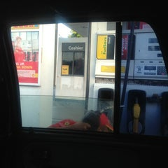 Photo taken at Shell Gasoline Station by Maria Julie C. on 4/24/2013