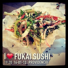 Photo taken at Fukai Sushi by Jonathan J. on 1/16/2013