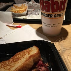 Photo taken at The Habit Burger Grill by Michele M. on 12/27/2014
