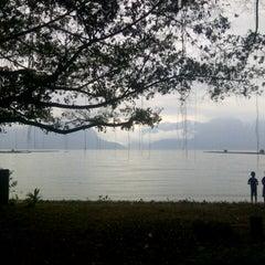 Photo taken at Danau Maninjau by Putri S. on 3/1/2015