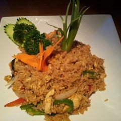 Photo taken at My Thai Cafe by Jeff B. on 10/16/2012