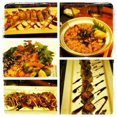 Photo taken at Doraku Sushi by Henry S. on 3/2/2013