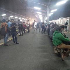 Photo taken at Stasiun Depok Lama by Rachmi N. on 6/25/2015