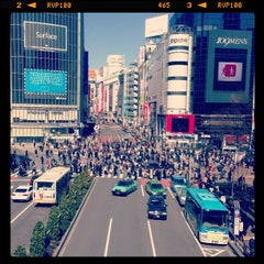 Photo taken at 渋谷駅 (Shibuya Sta.) by procyon on 3/11/2013