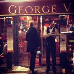 Photo taken at Café George V by Khairan B. on 1/31/2013