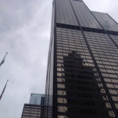 Photo taken at Original Sears Tower by Cary Ann F. on 3/22/2014