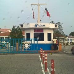 Photo taken at Akademi Laut Malaysia (ALAM) by Hanaffey G. on 7/26/2015