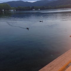 Photo taken at Banys Vells Banyoles by Ricardo F. on 8/21/2014