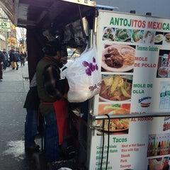 Photo taken at Antojitos Mexicanos by Tino C. on 1/10/2013