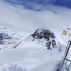 Photo taken at Matterhorn Glacier Paradise by Steve T. on 6/12/2013