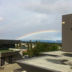 Photo taken at Vancouver Island University by Amandeep B. on 9/23/2011