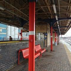 Photo taken at Warrington Bank Quay Railway Station (WBQ) by Manó J. on 3/23/2013
