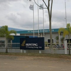 Photo taken at PT Hunting Energy Asia by Edwin on 4/17/2013