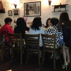 Photo taken at Die Stube German Bar & Resto by zin t. on 2/16/2013