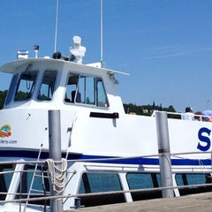 Photo taken at Shepler's Mackinac Island Ferry by W M. on 7/12/2013