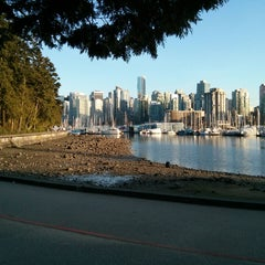 Photo taken at Stanley Park by Marc V. on 4/2/2013