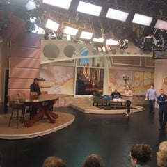 Photo taken at Windy City LIVE @ WLS ABC7 Studios by Kirk A. on 6/1/2015