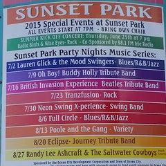Photo taken at Sunset Park by Robert B. on 7/23/2015