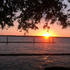 Photo taken at Cap's on the Water by Carly P. on 10/27/2012