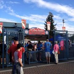 Photo taken at Avista Stadium by Bonnie B. on 8/26/2014