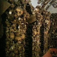 Photo taken at Cimitero dei Cappuccini by Thomas F. on 12/22/2012