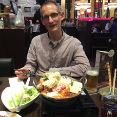 Photo taken at WATAMI Japanese Casual Restaurant by Adam L. on 2/19/2015