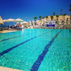 Photo taken at Hilton Pool by Jessica A. on 9/23/2014