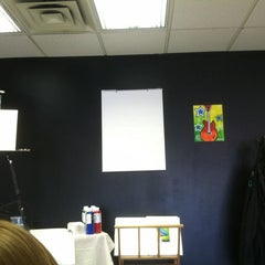 Photo taken at Wine And Canvas Art Studio by Jami on 9/29/2012