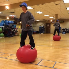 Photo taken at high altitude fitness by David L. on 2/13/2014