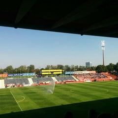 Photo taken at BSFZ Arena - Südstadt Stadion - Trenkwalder Arena by Harald W. on 8/29/2015